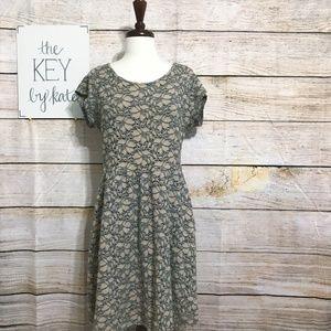 Anthropologie Deletta Casual Lace Mini Dress